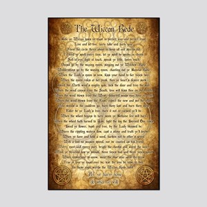 Wiccan Rede Mini Poster Print
