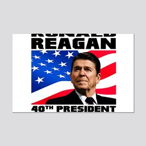 40 Reagan Mini Poster Print