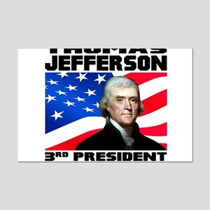 03 Jefferson Mini Poster Print