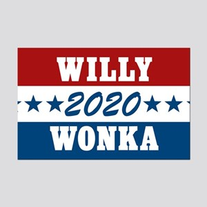 Vote For Willy Wonka 2020 Mini Poster Print