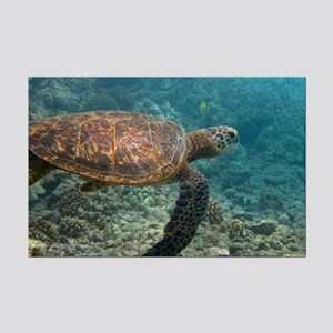 SEA TURTLE 3 Mini Poster Print