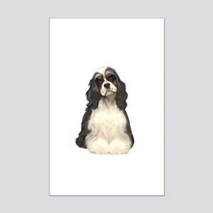 Cocker Spaniel (parti) Mini Poster Print