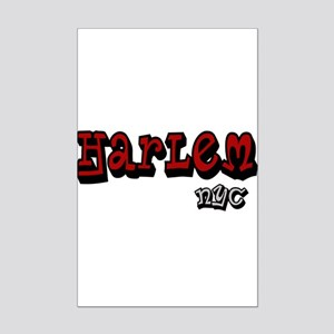 """CLICK HERE for Harlem NYC lo Mini Poster Print"