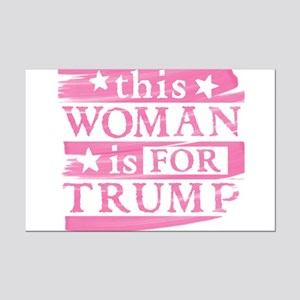 Woman for TRUMP Posters