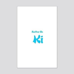 Id Rather Be...St. Kitts Mini Poster Print