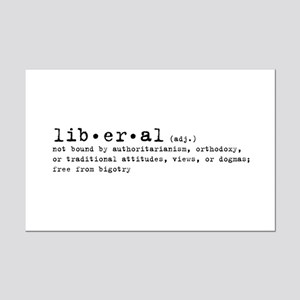 Liberal By Definition Mini Poster Print