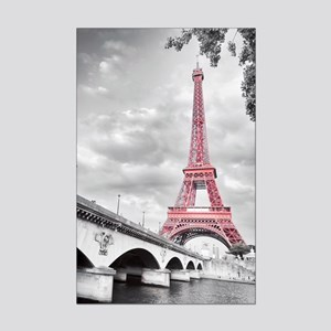 Pink Eiffel Tower Posters