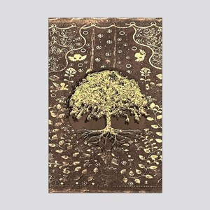 Tree of Life Fall Rustic Vintage Posters