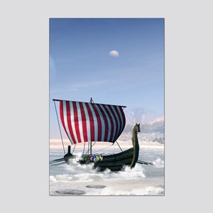Wonderful longboat, vikking ship Posters