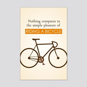 The Pleasure Of Riding A Bicycle Poster Print (Min