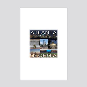 Atlanta, Georgia Mini Poster Print