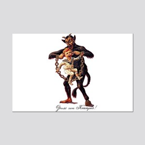 Gruss vom (Greetings From) Krampus Mini Poster Pri