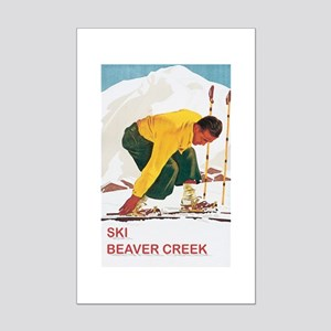 Ski Beaver Creek Mini Poster Print