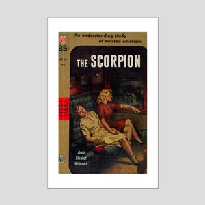 The Scorpion Mini Poster Print