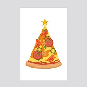 Pizza Christmas Tree Posters