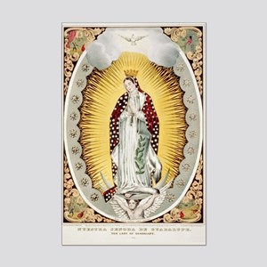 Our Lady of Guadalupe Mexican Poster Print