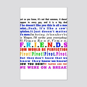 Funny Friends Posters - CafePress