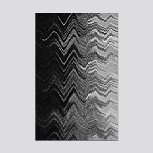 Abstract Wave Ombre Design Posters