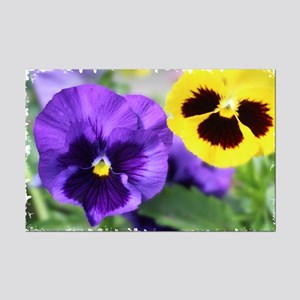 PANSIES Mini Poster Print