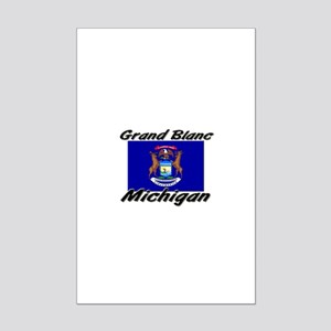 Grand Blanc Michigan Mini Poster Print