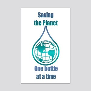 Save the Planet Mini Poster Print