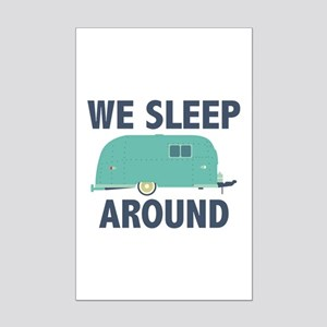 We Sleep Around Mini Poster Print