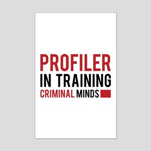 Criminal Profiling Posters - CafePress