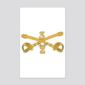 DUI - 2nd Squadron - 3rd ACR Mini Poster Print