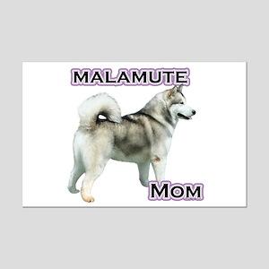 Malamute Mom4 Mini Poster Print