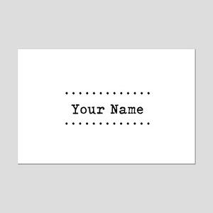 Custom Name Mini Poster Print