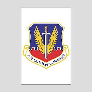 USAF Air Combat Command Mini Poster Print