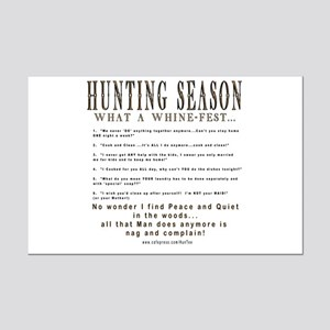 Hunting Whinefest... Mini Poster Print