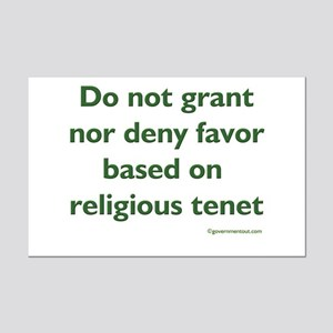 Tenet Mini Poster Print