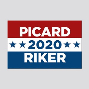 Picard Riker 2020 Posters
