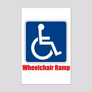 Handicapped Wheelchair Ramp Posters