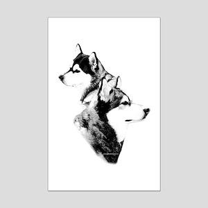 Mal Charcoal2 Mini Poster Print