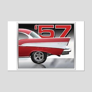 '57 Chevy Bel Air Mini Poster Print