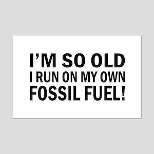Old Age Humor Mini Poster Print