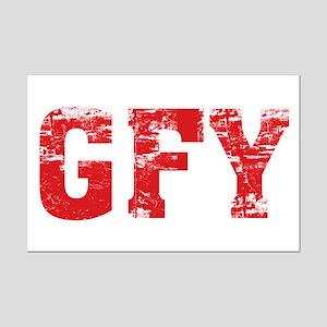 GFY Mini Poster Print