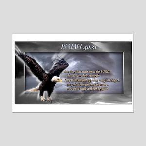ISAIAH 40:31 Mini Poster Print