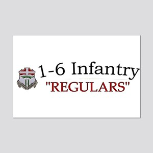 1st Bn 6th Inf Mini Poster Print