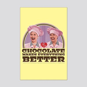 I Love Lucy: Chocolate Makes Eve Mini Poster Print