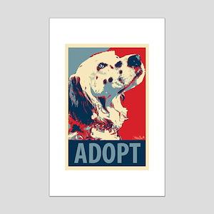 Adopt Mini Poster Print