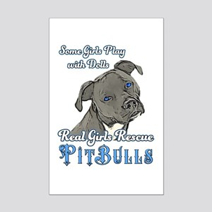 Real Girls Rescue Pitbulls Posters