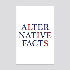 Alternative Facts Mini Poster Print