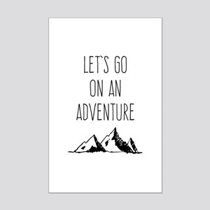 Let's Go On An Adventure Posters