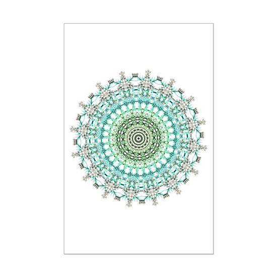 Evergreen Mandala Pattern