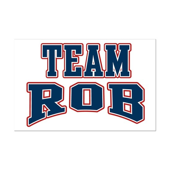 Team Rob Navy Red White