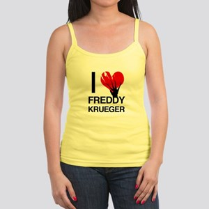 I Love Freddy Krueger Tank Top