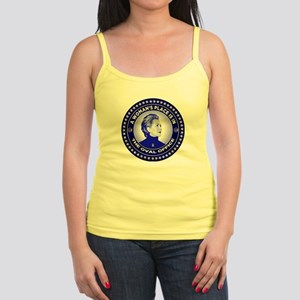 A Woman's Place is in the Oval  Jr. Spaghetti Tank